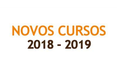 Cursos 2018 – 2019