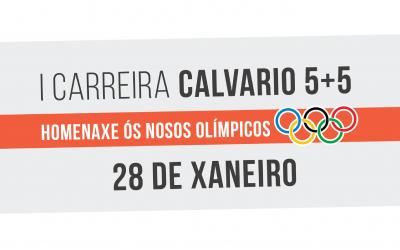 Máis de 800 runners na Calvario 5+5