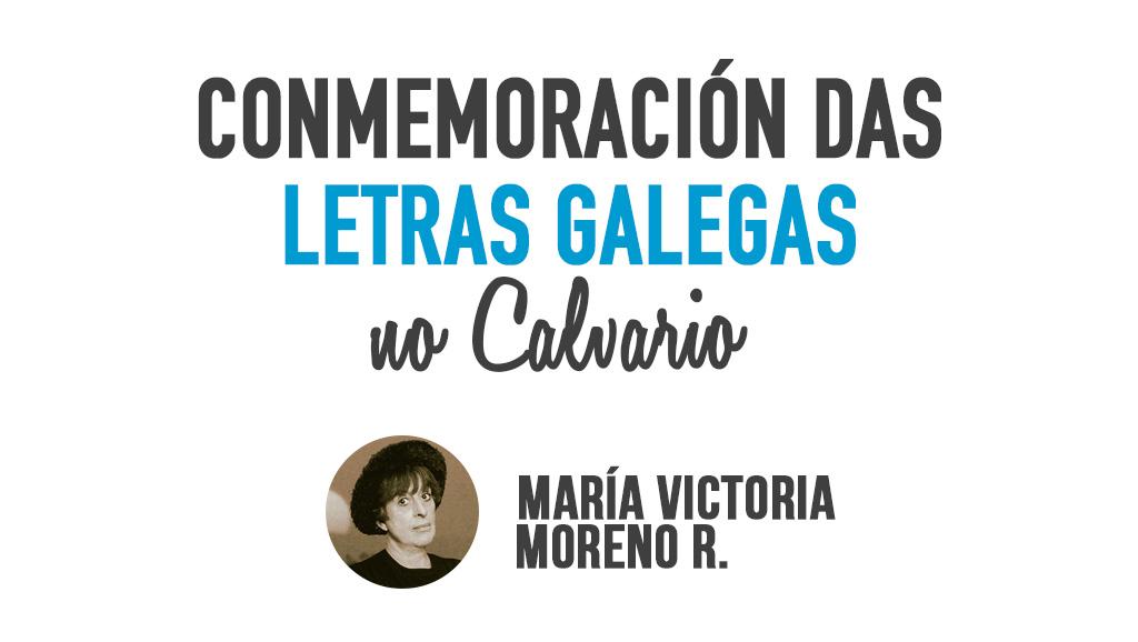 Conmemoración das Letras Galegas no Calvario
