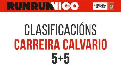Clasificacións carreira Calvario 5+5